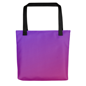 Sunset Dusk Purple Tote bag