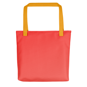 Sunset Peachy Tote bag