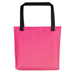 Sunset Night Pink Tote bag