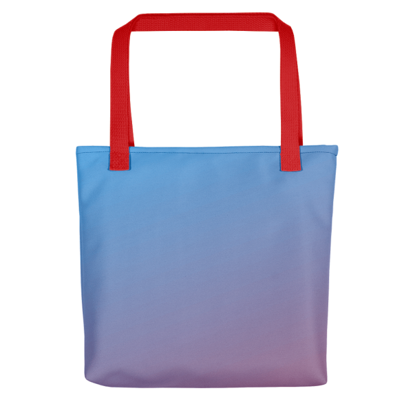 Xantiago Sunset The Break of Dawn Blue Red Totes