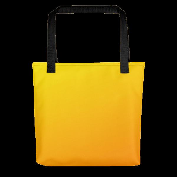 Xantiago Sunset Twelve Hundred Hours Yellow Tote bag