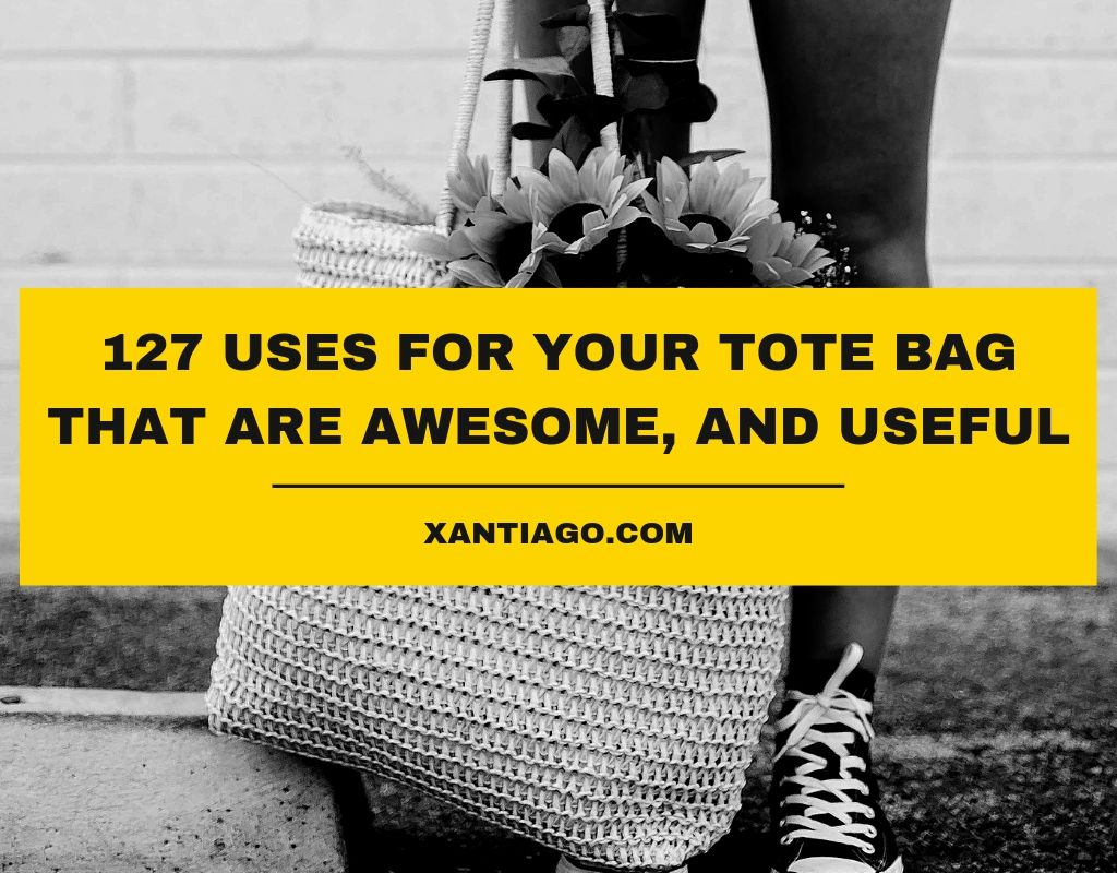 127 Uses For Your Tote Bag That Are Awesome, and Useful