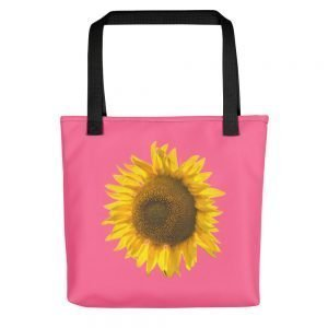 Sunflower Pink Tote bag