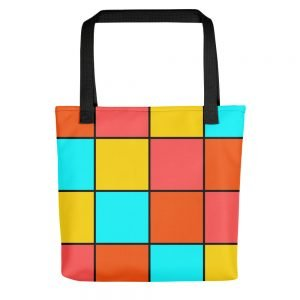 Bright Tiles Tote bag