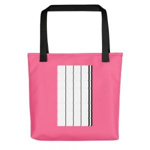 The Monolith Pink Tote bag