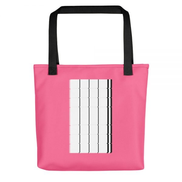 The Monolith Pink Tote bag | Xantiago Unique Tote Bags