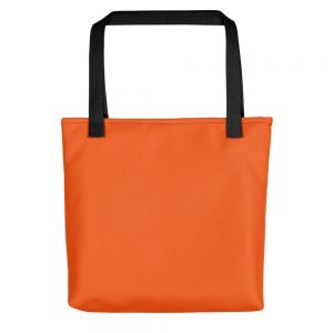 ONLY Orange Tote bag