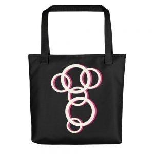 Faraway Black Tote bag
