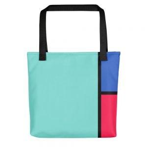 BLUCYMA Cyan Tote Bag