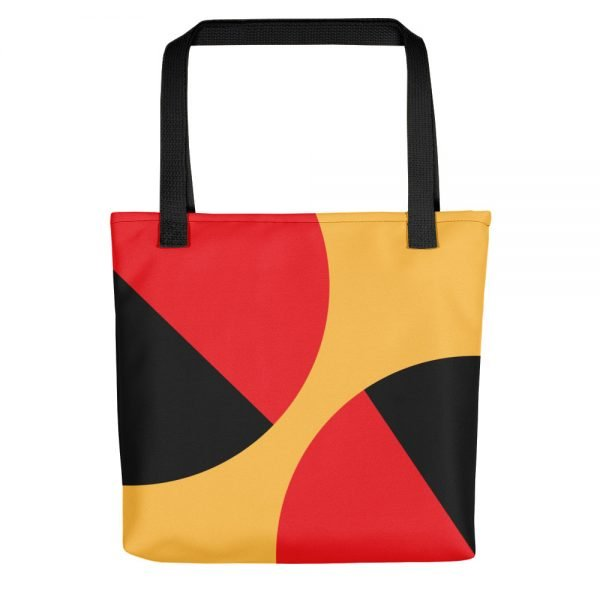 The Balance Yellow Tote Bag | Unique Tote Bags | Xantiago